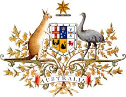 Australian Coat of Arms.
