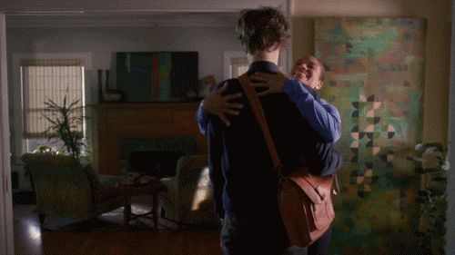 New trending GIF tagged hug criminal minds matthew gray...