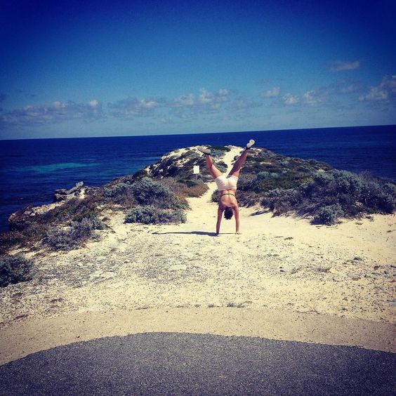 First attempt at a cartwheel in years!! #cartwheel #rottnestisland #lovinglife #beach #travel #wa by michelle_b94 http://ift.tt/1L5GqLp