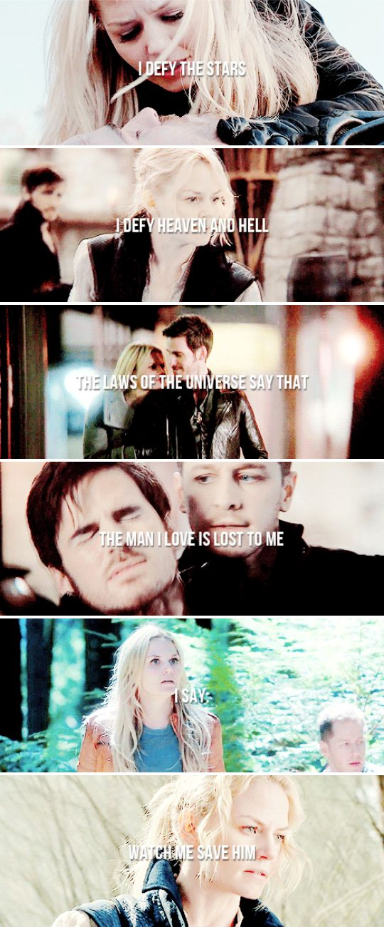He saved me first, you know #ouat