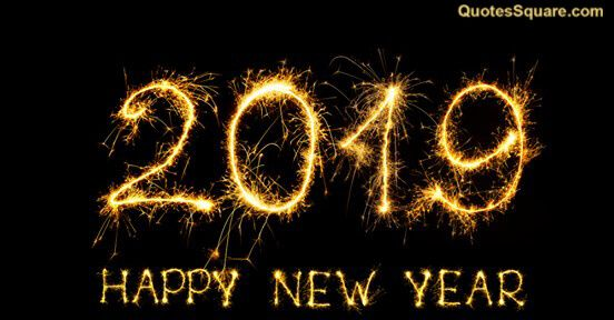 Happy New Year 2019 Wallpaper Quotes