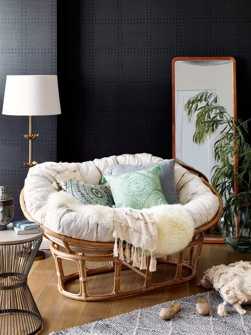 Double Papasan With Pillows Jpg Papasan Chair Living Room Living Room Chairs Papasan Chair Bedroom #papasan #chair #living #room #ideas