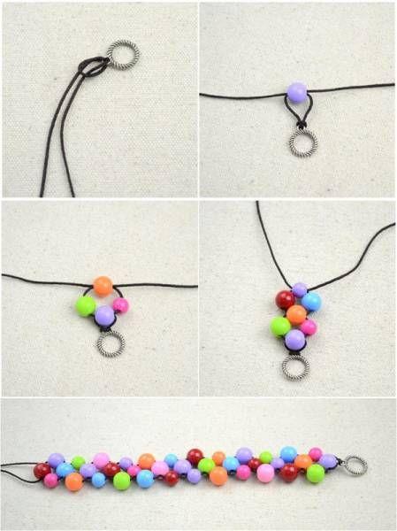 Il vous suffit d'acheter les accessoires DIY correspondant au bracelet que vous souhaitez créé et de suivre un de ces 17 tutos bracelet facile à faire en moins de 5...: