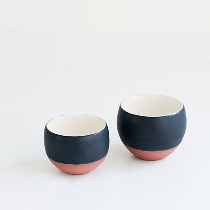 I'm thinking about painting by bowls the same, even though they're different shapes and sizes.