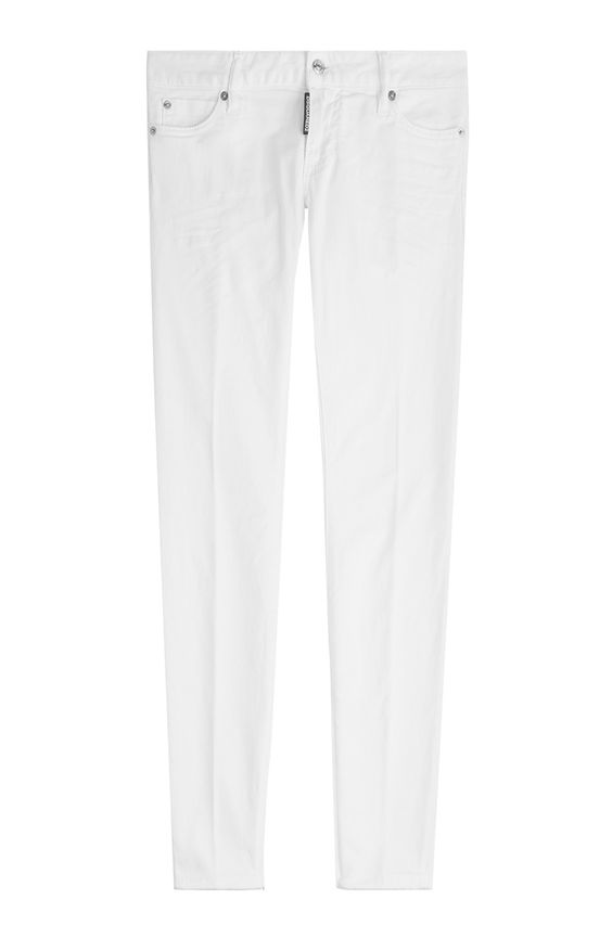 DSQUARED2 Cropped Skinny Jeans. #dsquared2 #cloth #skinny leg