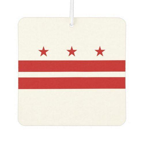 Patriotic Washington Dc State Flag Air Freshener Zazzle Com Washington Dc State State Flags Washington Dc