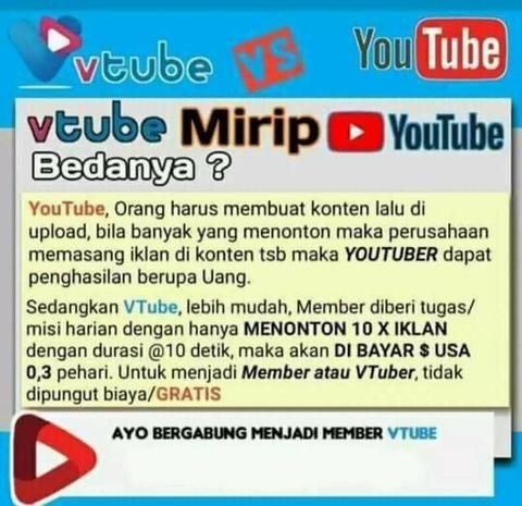 Jual Registrasi Bisnis Vtube Halal Vtube Alimama Jdunion888 Share4pay Kaskus Di 2020 Youtube Youtuber Perjalanan Bisnis