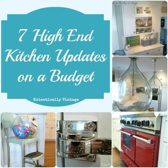 7 high end kitchen on a budget ideas at kitchen updates for Update my kitchen on a budget