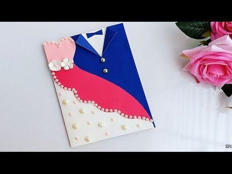 A Beautiful Anniversary Card Idea How To Make Anniversary Card At Home Youtube Anniversary Cards Handmade Card Making Birthday Wedding Cards Handmade
