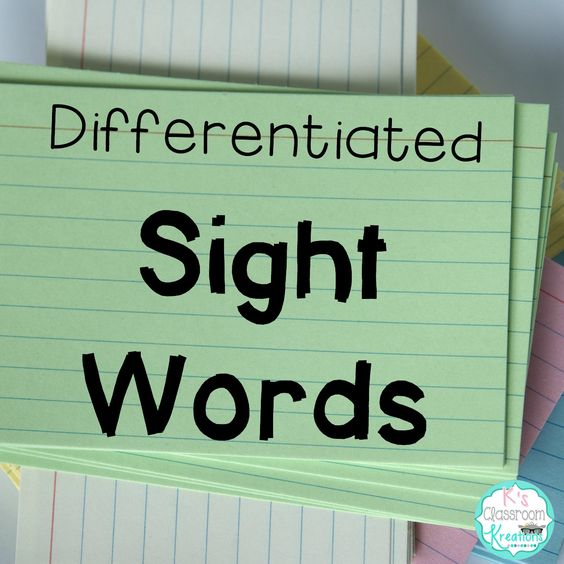 Who's Who and Who's New: Differentiated Sight Word Practice & Freebie