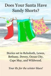 Does your Santa have Sandy Shorts? From beach reads to sitting-by-the-fire-in-winter reads, read stories set in Rehoboth, Lewes, Bethany, Dewey, Cape May, Ocean City, and Wildwood. http://www.catandmousepress.com/sandy-shorts.html