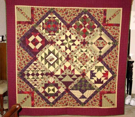 Quilt Design Tips and Techniques (Plus Quilt Photos): Make a Unique Sampler Quilt