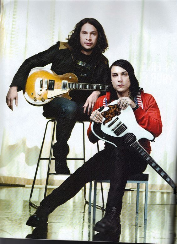 Ray Toro and Frank Iero are featured in Jan 2011 issue of Guitar World Magazine