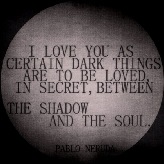 """""""I love you as certain as dark things are to be loved..."""" - Neruda #unbreakable #thelegionseries #kamigarcia #YAbooks #supernatural #quotes #paranormal *:"""