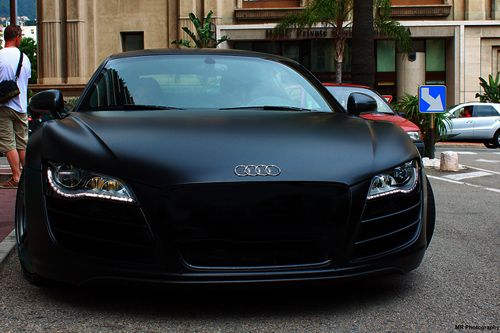 Audi with a Matte finish.
