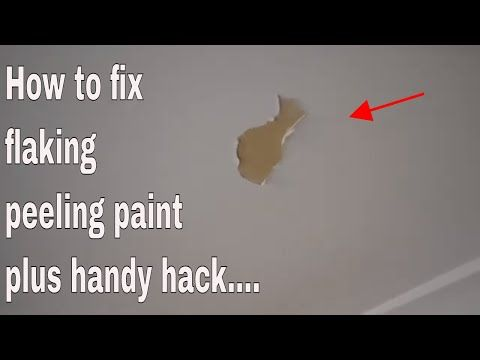 How To Fix Flaking Peeling Bubbled Paint Bathroom Ceiling Youtube In 2020 Bathroom Ceiling Painting Bathroom Bathroom Ceiling Paint
