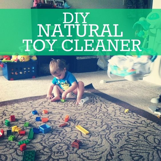 As We Grow: DIY natural toy cleaner - no chemicals!