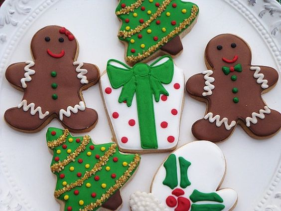 Christmas Cookie Assortment 1 Dozen Pinterest Cute
