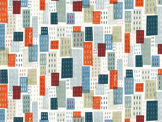 City pattern by Michael Mullan in Pattern