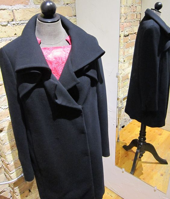 Winter coat week! This Prada coat is the perfect blend of fashion and function.