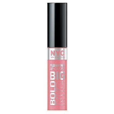 N.Y.C. York Color Big Bold Plumping And Shine Lip Gloss, Pleasantly Plump