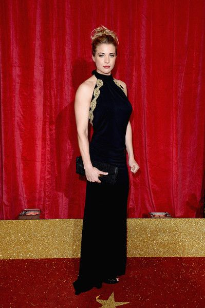 Gemma Atkinson attends the British Soap Awards 2016 at Hackney Empire on May 28, 2016 in London, England.