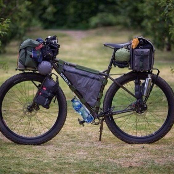 roadbikecity:  Travel bike #tent #cycle  I love this bike! I wonder how much it costs