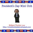 Presidents Day Unit
