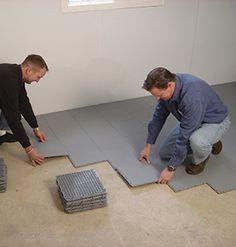 Waterproof Basement Floor Matting Basement Sub Floor Systems
