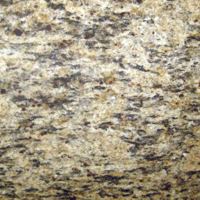 Santa Cecilia Gold: too blk & white? Streaks of black on a creamy gold background with garnets of red