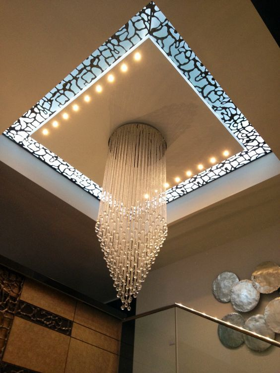 20 False Ceiling Decorating With Cnc Wooden Designs That Will
