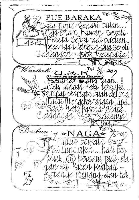 Analisa Syair Togel Singapure Sgp Minggu 3 3 2019 Sheet Music Bandar Music