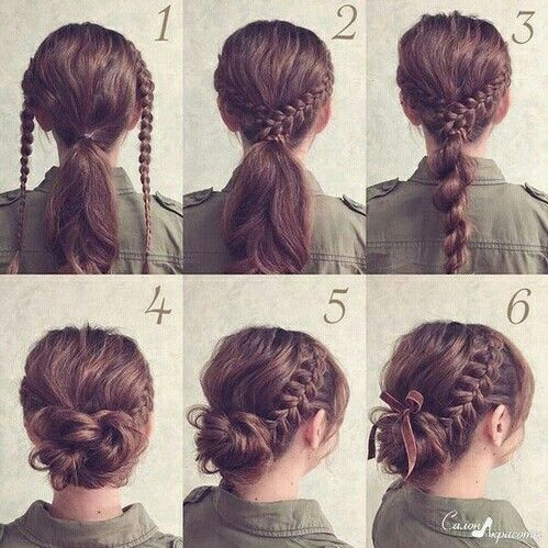 17 Lazy Hairstyle Ideas For Girls That Are Actually Easy To Do Braided Hairstyles Updo Lazy Hairstyles Hair Styles