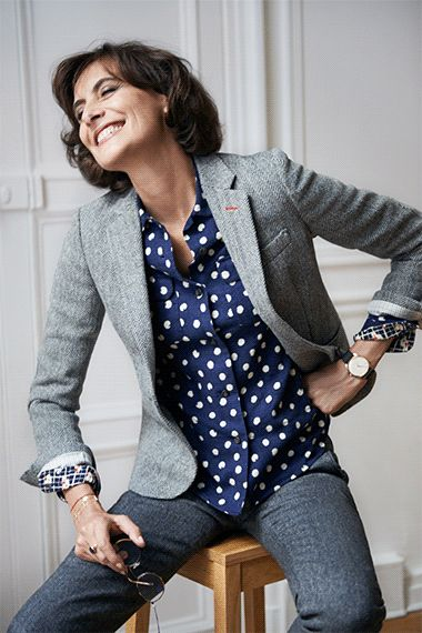 Exclusive UNIQLO | Collaboration with Ines de la Fressange! starts Sept 4, only available online or in Paris Uniqlo shops