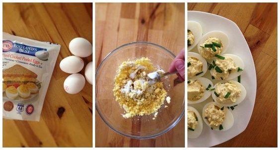 Deviled Eggs Recipe with Greek Yogurt