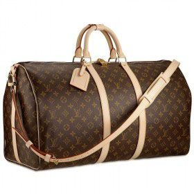 Louis Vuitton duffle bag with strap