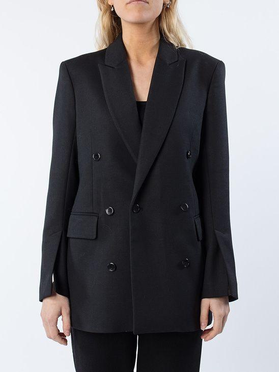 Grå Kavaj (With images)   Fashion, Women's blazer, Blazer