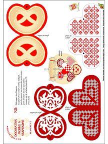 FREE printable Christmas tree ornaments / HugoLescargot.com