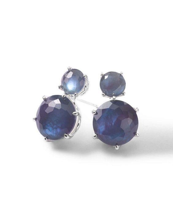 Wonderland 2-Stone Stud Earrings