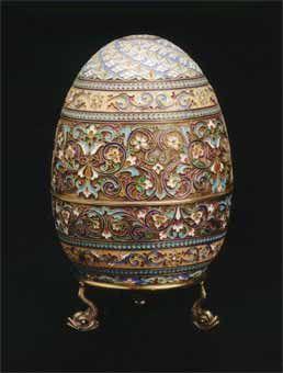 Fabergé Style Egg