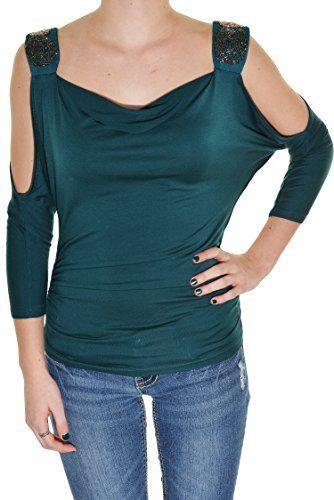 Moa Moa Cold Shoulder Beaded Top (Teal, X-Large) Moa Moa http://www.amazon.com/dp/B0149HDI12/ref=cm_sw_r_pi_dp_2Pp5vb0FPNQ26