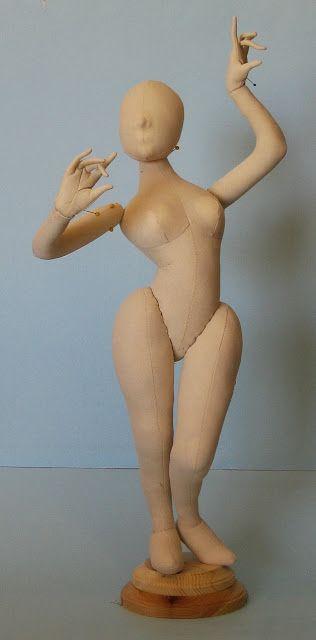 """LeFemme"" doll pattern, Arley Berryhill"