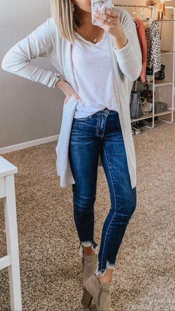 Look calça jeans para arrasar  várias vezes