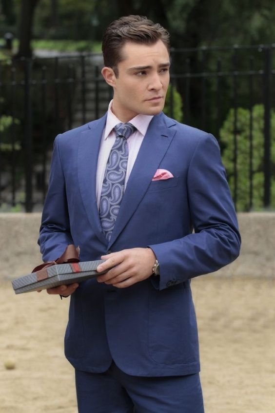 Ed Westwick or Chuck Bass, either way!