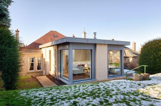 1930s liberton bungalow extension edinburgh architecture Contemporary 1930s house
