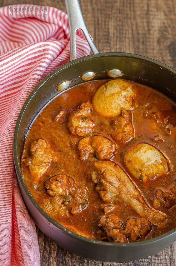 Doro Wat ~ Ethiopian Chicken Stew #FoodOfTheWorld - MySpicyKitchen