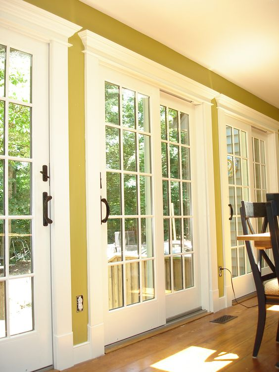 These Are The Anderson 400 Series Sliding Patio Doors With