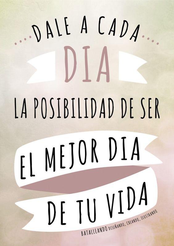 Gaudir nos trae un #mensaje muy positivo en su #reto #volaralto: dale a cada día la posibilidad de ser el mejor día de tu vida! http://sonandoconvivirenuncuentosonandoconvivirdelcuento.blogs.charhadas.com/2014/01/10/reto-volar-alto-12/: