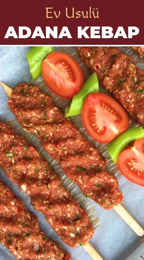 Ev Usulu Adana Kebap Ev Usulu Adana Kebap Gourmetmeatdishes