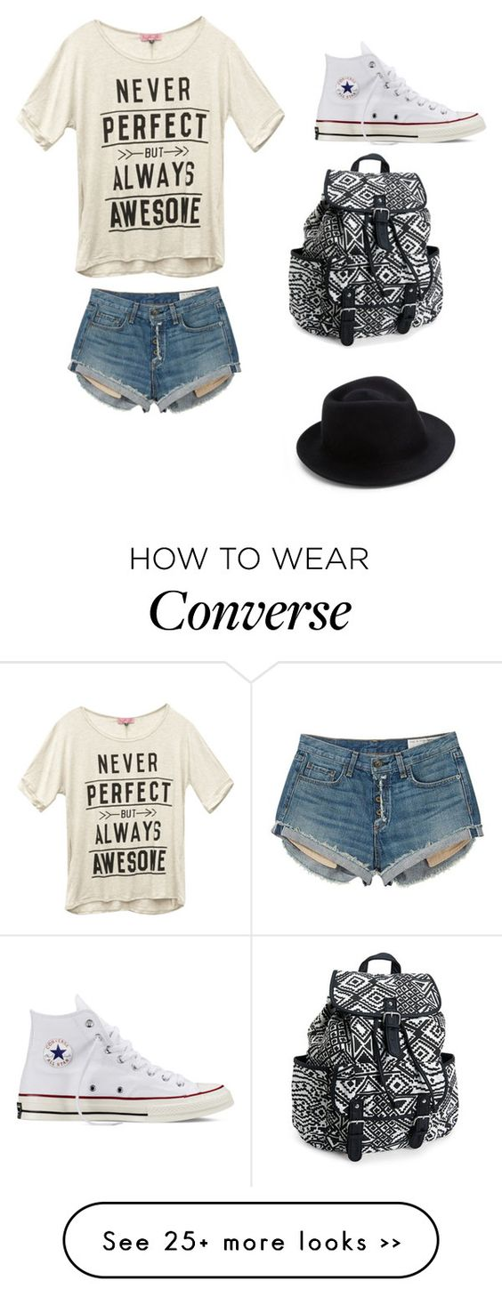 """Untitled #117"" by jjskater on Polyvore featuring rag & bone, Wet Seal, Converse, Aéropostale and Eugenia Kim"
